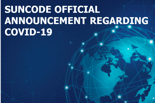 Suncode official announcement regarding COVID-19